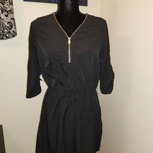Stella Tweed Black Dress